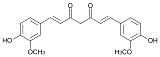 Curcumin chemical structure